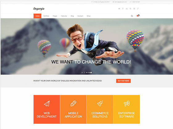 design bureau wp theme layerslider